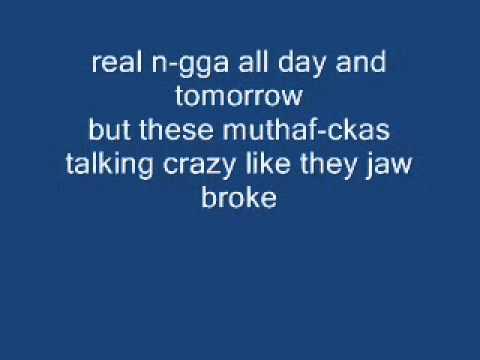 6 foot 7 instrumental (Lyrics on screen)