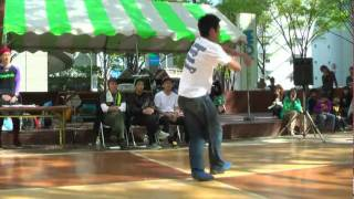 B-BOY CYALLENGE 6 ブレイクダンス64名フルトーナメント ソロバトル 4...
