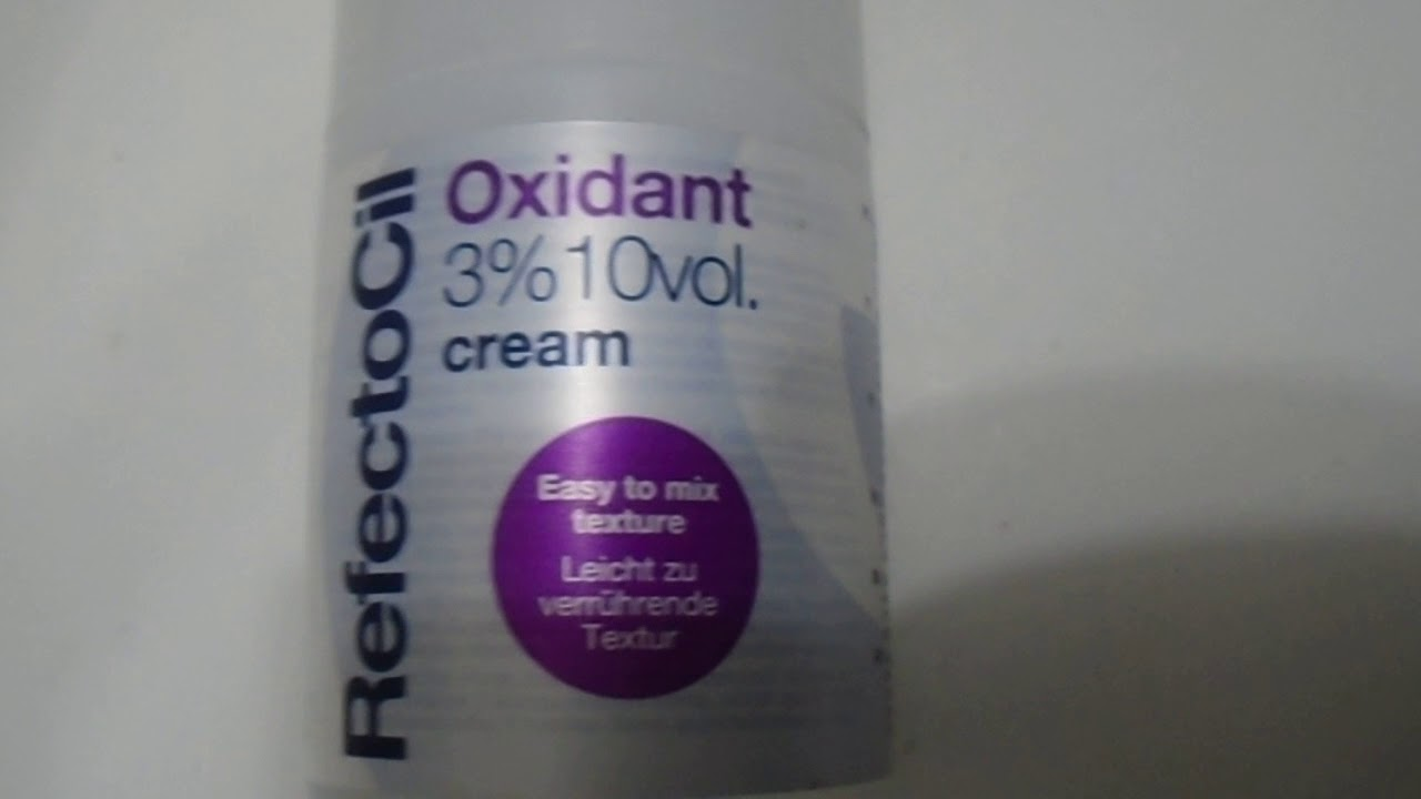 refectocil oxidant 3 creme
