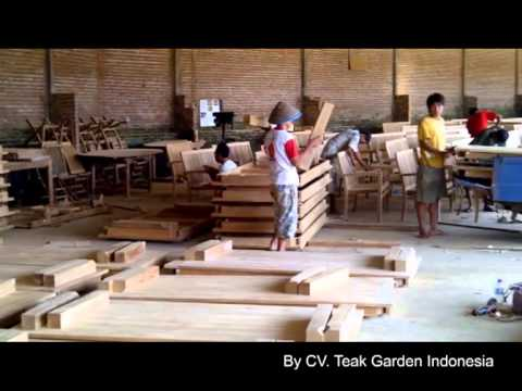 Teak Patio Outdoor Furniture from Indonesia