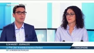 Elsa Maudet : Le P'tit Libé, le média à hauteur d'enfant