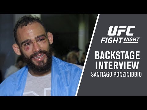 Fight Night Argentina: Santiago Ponzinibbio - 'This Is A Dream For Me'