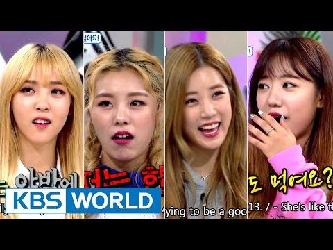 Hello Counselor - Chorong, Namjoo, Wheein, Moonbyul [ENG/THAI/2016.10.10]