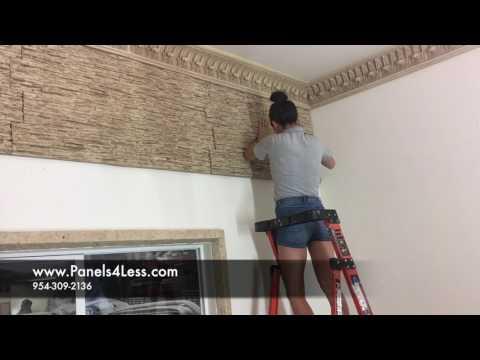 Lava Wall Installation video 2