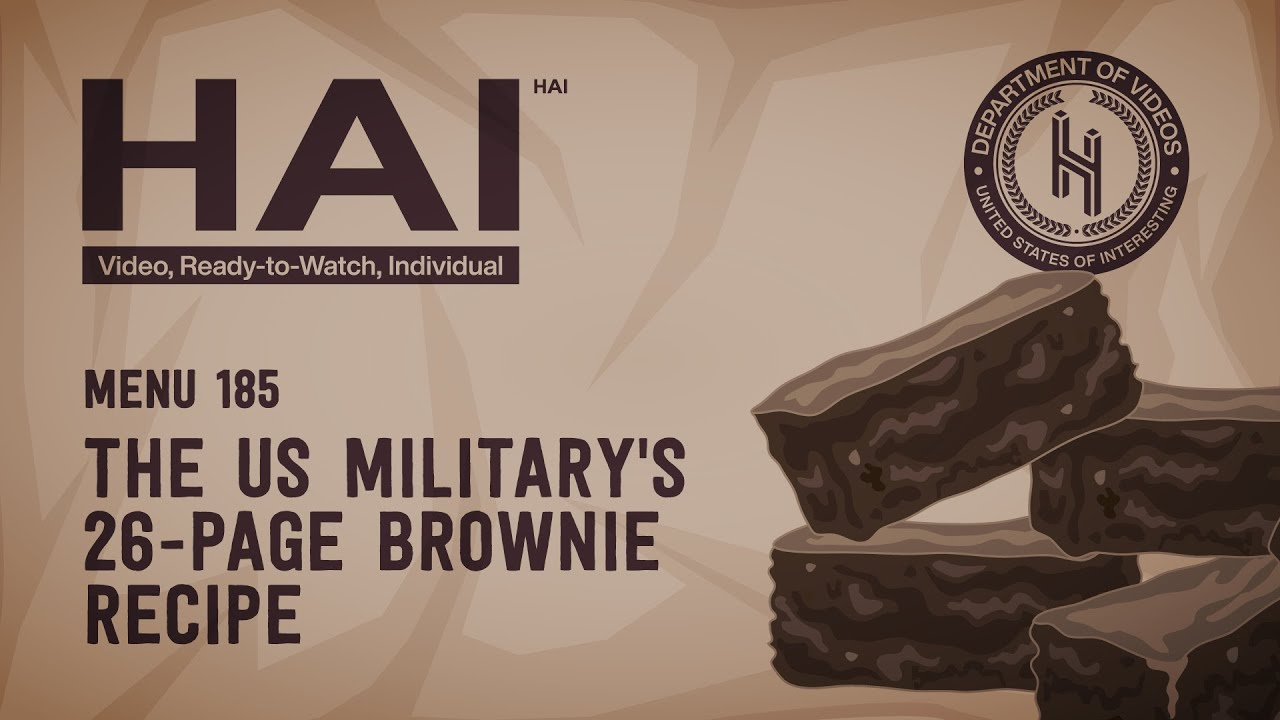Why the US Military Has a 26-Page Brownie Recipe