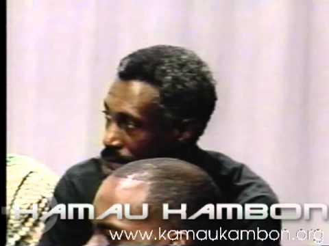 Dr. Kamau Kambon Round Table Video: Talk of Raleigh Black Male Endangered WAUG 9/4/1991