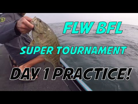 St Lawrence River Bass Tournament - FLW BFL Super Tournament Lake Ontario Bass Fishing!