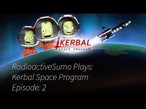 Kerbal Space Program Episode 2- Re Entry Is Hard...