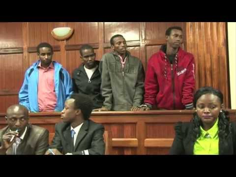 Kenya charges four over Westgate attack