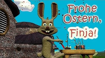 Frohe Ostern, liebe Finja! - Das lustige, personalisierte Osterlied