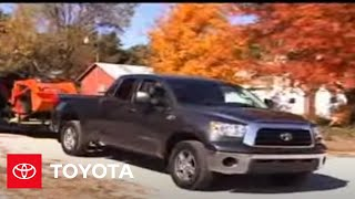 2007 - 2009 Tundra How-To: Towing - Break-in Schedule for Towing | Toyota