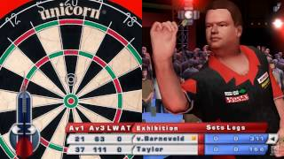 PDC World Championship Darts 2008 PSP Gameplay HD