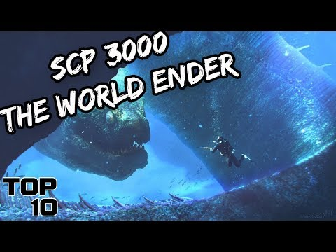Top 10 Scary SCP's That Could End The World