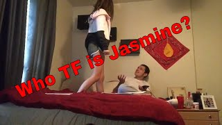 Calling My girlfriend another girls name prank (Gets Violent) 😂