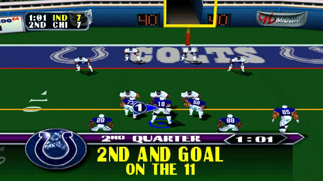 Image result for nfl blitz n64