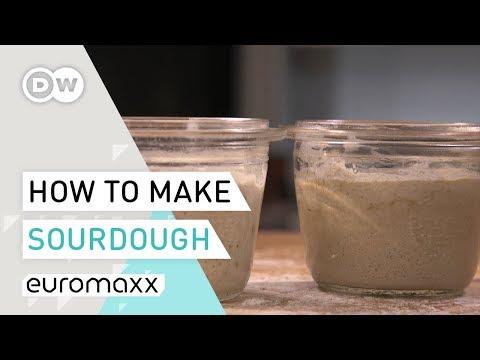 How To Make Sourdough Starter | Rye Sourdough Recipe | Baking Tutorial | Baking Bread