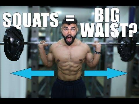 Do Squats & Deadlifts make the Waist THICKER? | Will Squats and Deadlifts thicken your waist?