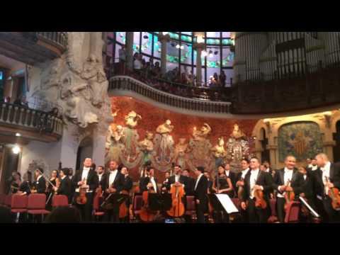 Gustavo Dudamel y la Orquesta Simón Bolívar al Palau de la Música Catalana