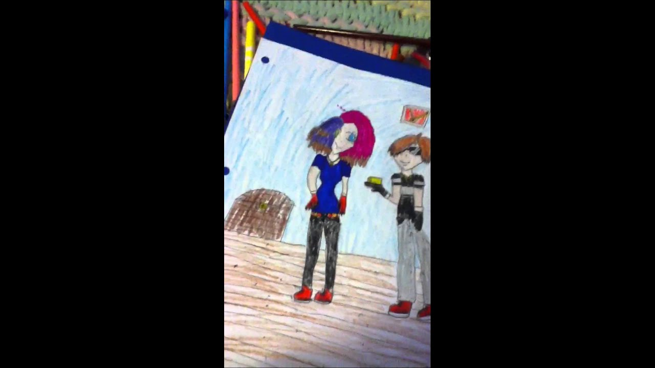 Drawing of skydoesminecraft and dawnables - YouTube Skydoesminecraft And Dawnables
