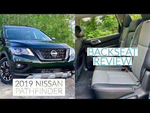 2019 Nissan Pathfinder Interior: Backseat Review