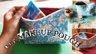 D.I.Y makeup pouch Thumbnail