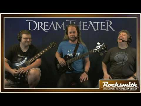 Rocksmith 2014 - Dream Theater DLC - Live from Ubisoft Studio SF