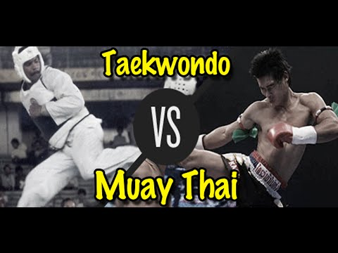 Muay Thai Champion vs. Taekwondo Black Belt | Lawrence Kenshin