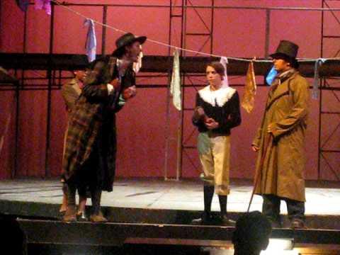 Oliver! - Scene - Fagin, Oliver, Sykes & Nancy