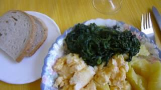 знаменитое блюдо немцев за 20 минут, essen in 20 Min, food preparation in 20 min