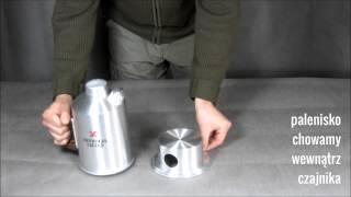 Czajnik turystyczny Survival Kettle - jak to działa (instrukcja)