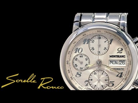a7d40e8d08c MONTBLANC Star Chrono Automatic Daydate - YouTube
