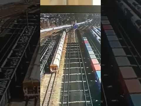 Крушение поезда. Брест.