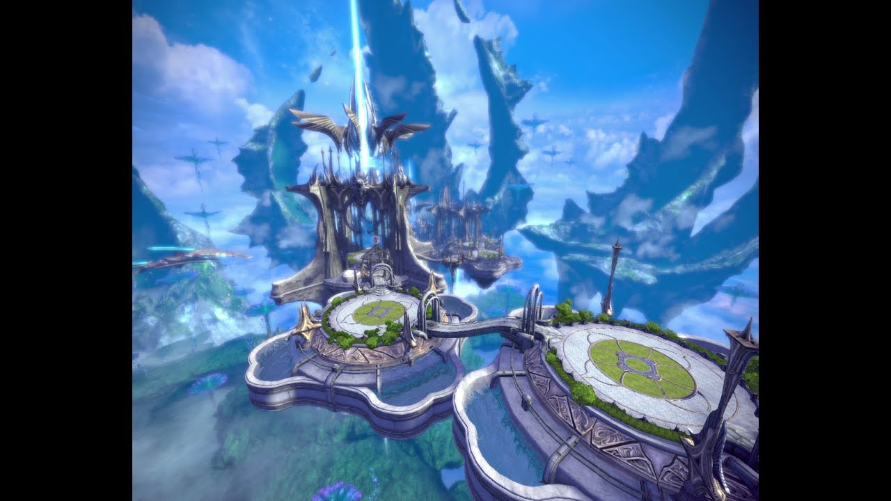 Sky Garden Walk: Tera Online / A Walk In Saleron's Sky Garden(No Monsters