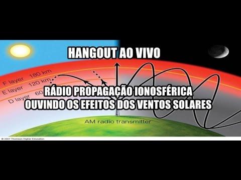 74º Hangout Ciência e Astronomia: Radio propagação ionosférica