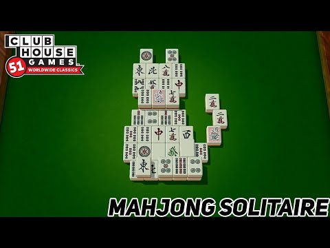 Clubhouse Games: 51 Worldwide Classics - Mahjong Solitaire Gameplay