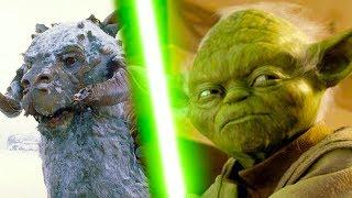 TaunTaun EATS Yoda!  Star Wars Battlefront 2 Multiplayer Gameplay