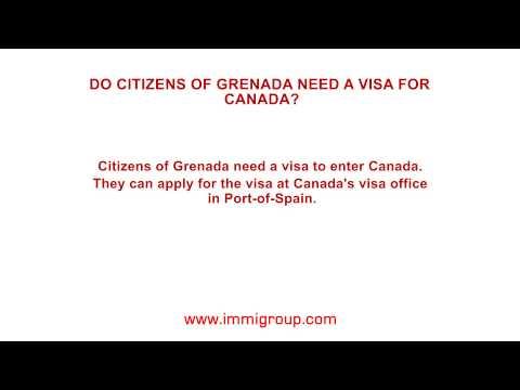 Do citizens of Grenada need a visa for Canada?