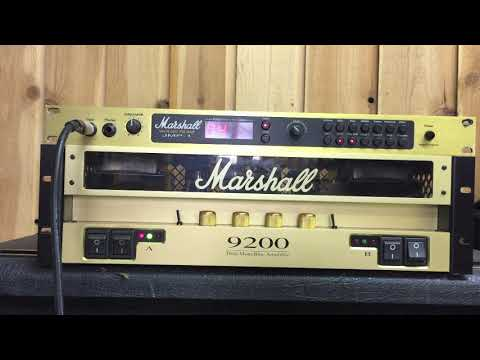 JMP 1 Pre Amplifier with Marshall 9200 Stereo Power amp for sale