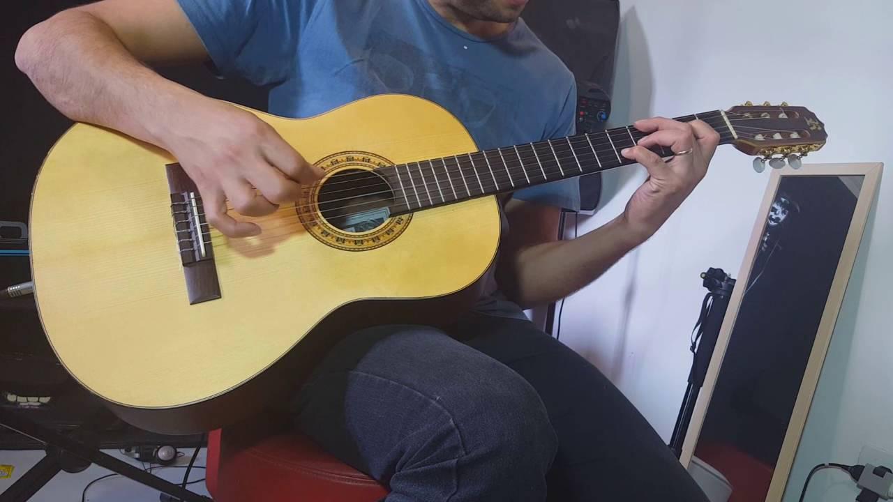 Como fazer o Chord Melody - violu00e3o - Quando eu chorar - Aula 1 - YouTube