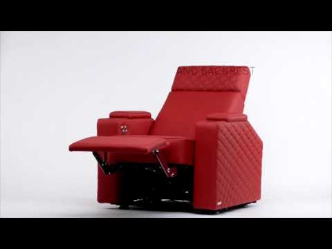 Home Cinema Chair BERLIN by moovia®