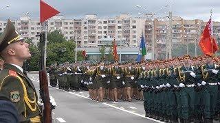 Парад, посвященный Дню Независимости, в Минске
