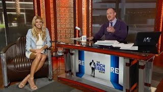 Model & Actress Charlotte McKinney Joins The RE Show in Studio - 4/8/15