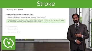 Stroke & Cerebral Ischemia – Pathology | Lecturio