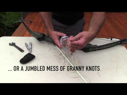 How To Make A Cheap, Homemade Bowfishing Rig