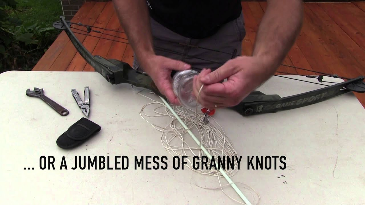 How to Make a Homemade Bowfishing Rig