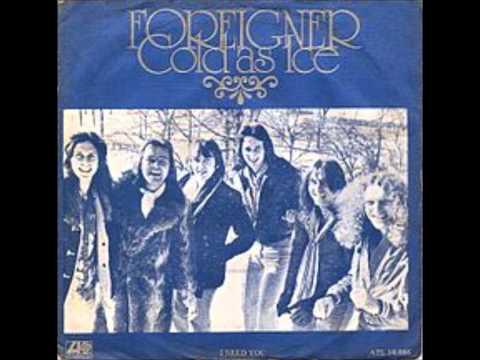 Cold As Ice - Foreigner lyrics