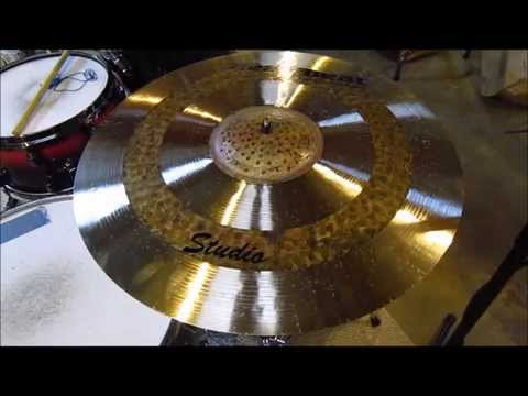 "Heartbeat 20"" Studio Medium Ride Cymbal Sound Test FOR SALE!!!!!"