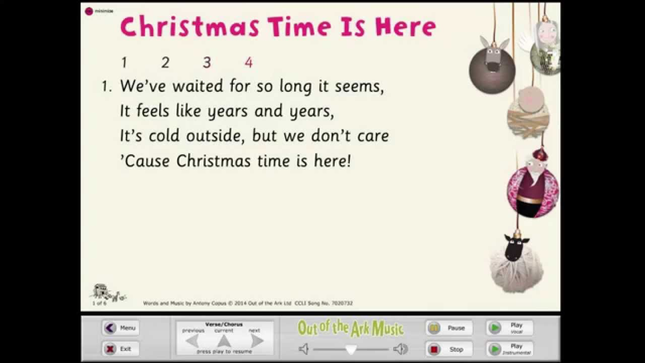 Christmas Time Is Here [Baubles!] - Words on Screen™ Original - YouTube