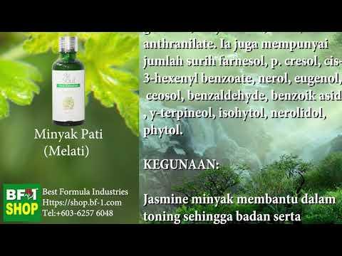 Pati Minyak Wangi Aromatik - melati (Jasmine)