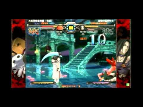 2013/11/7 GGXX AC+R Mikado stream - Nage(FA) vs Shuumatsu(TE)